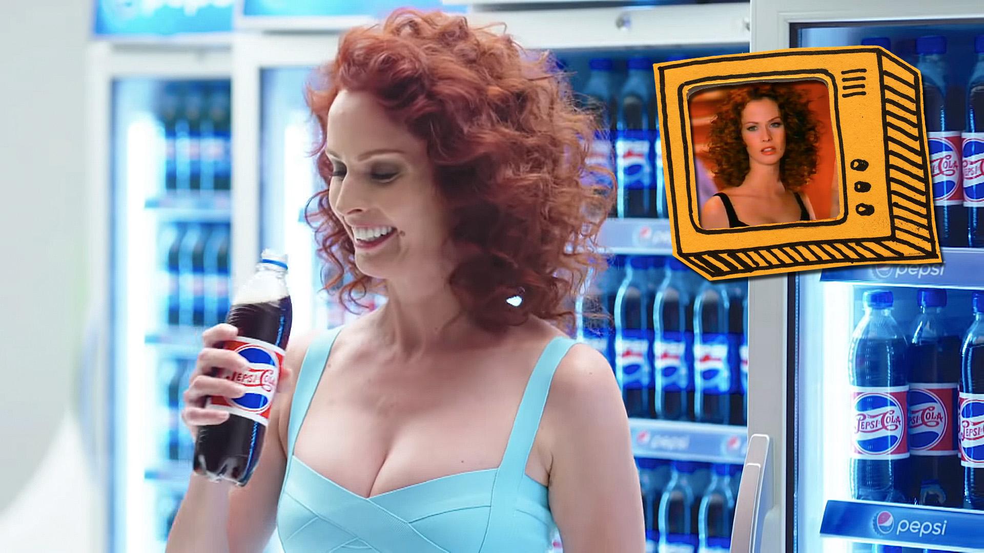 Dobó Kata a Pepsi reklámban