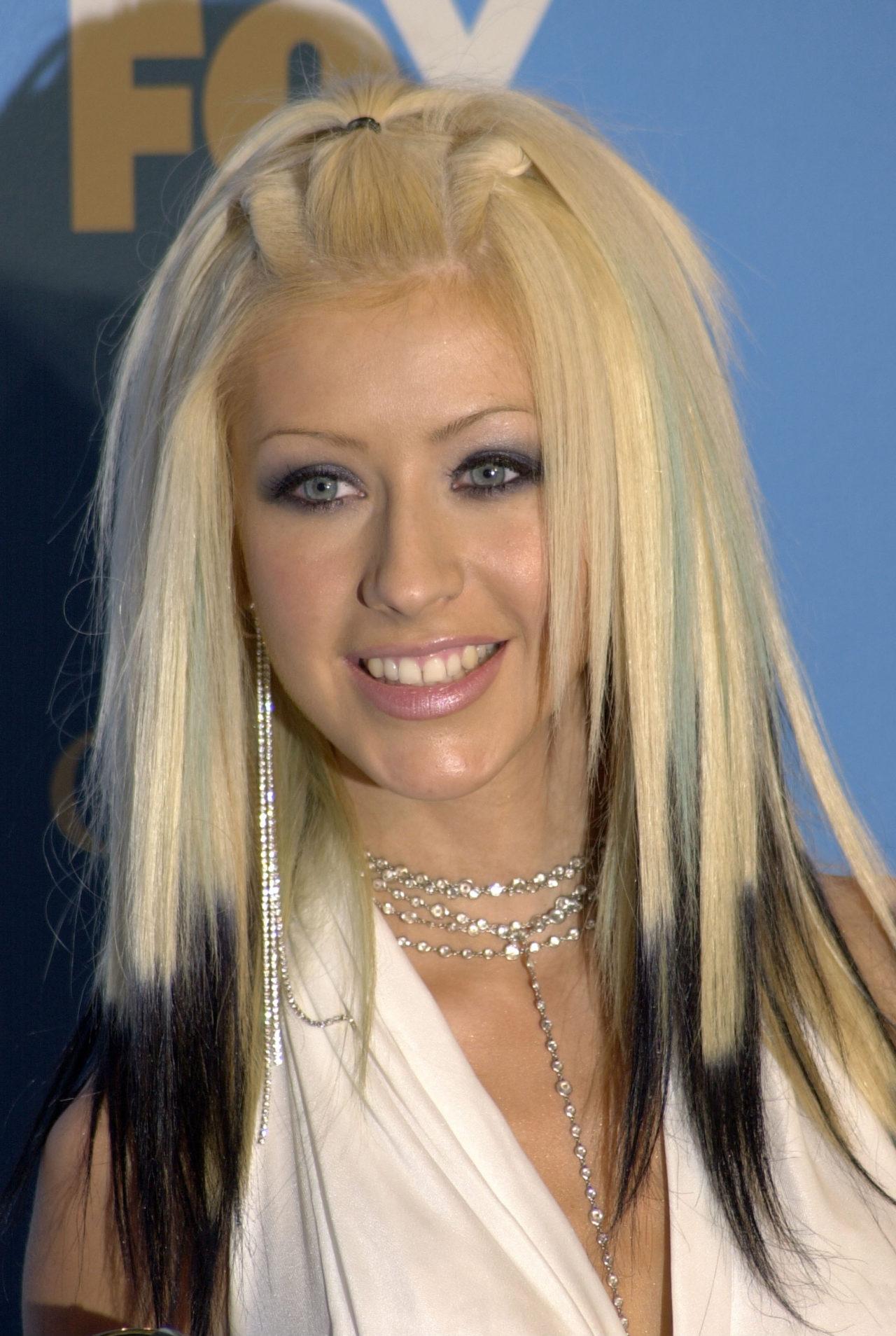 El cabello de Christina Aguilera ha existido durante mucho tiempo