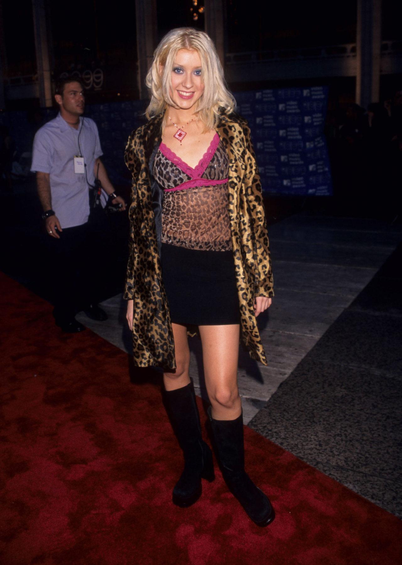 El estilo de Christina Aguilera solía ser