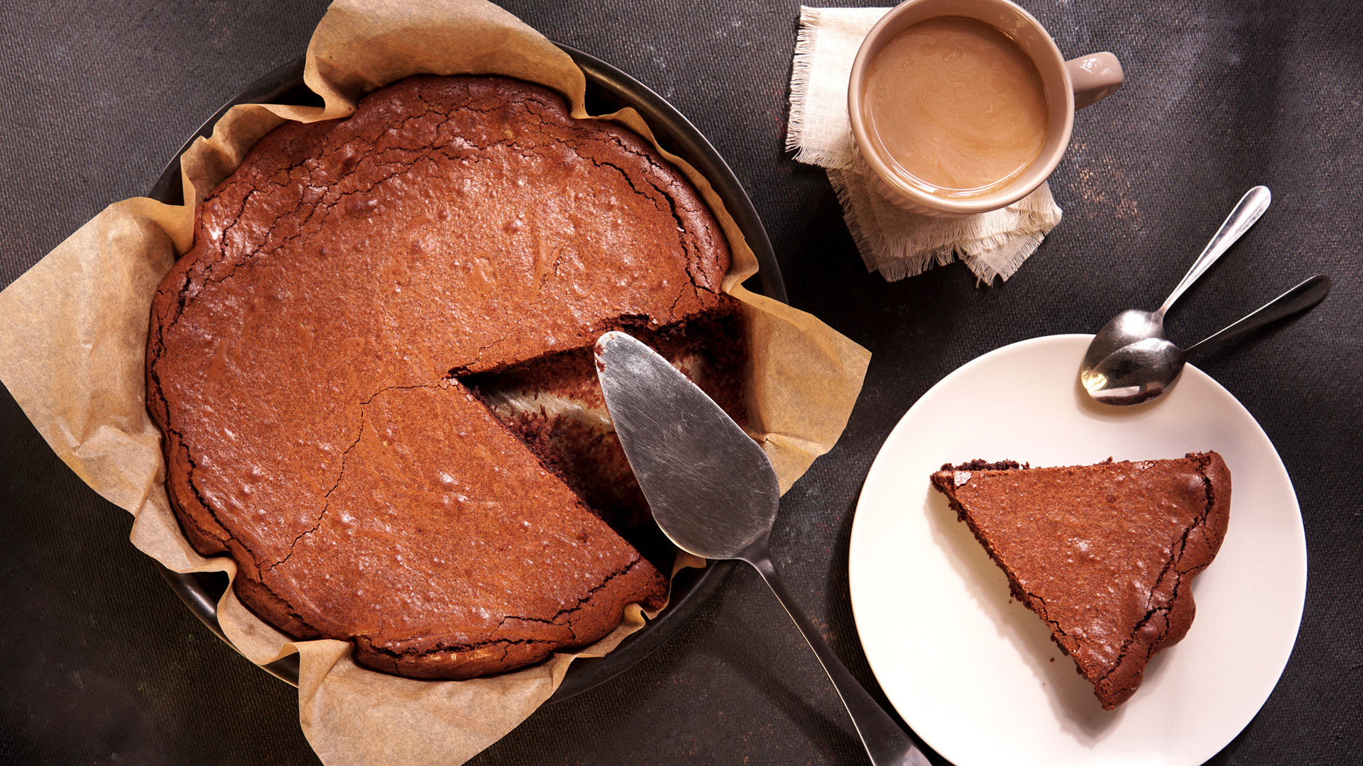 "Fejedelmi ""brownie pite"" sűrített tejjel"