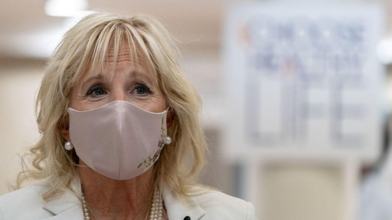 jill biden, first lady, koronavírus