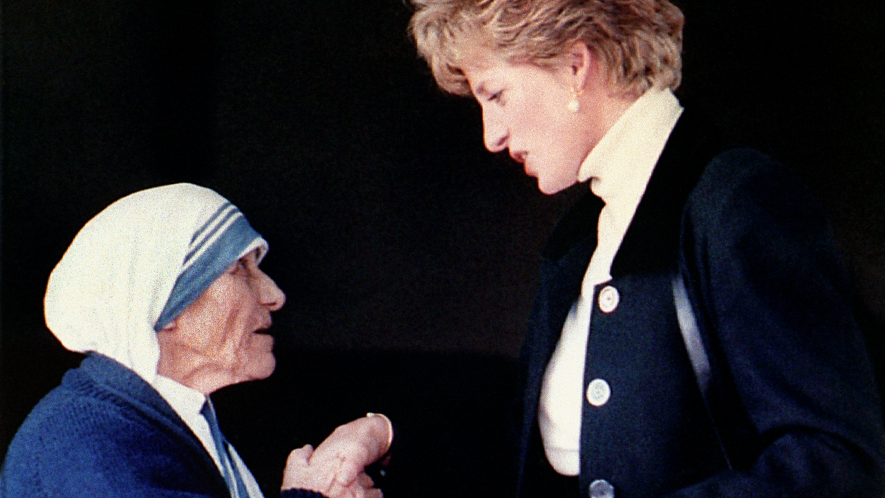 Diana hercegnő és Teréz anya