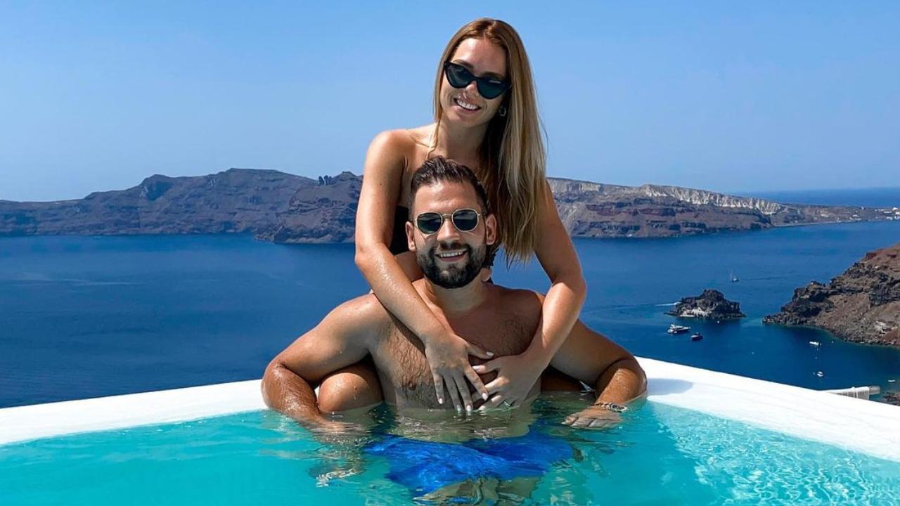 Gyuricza Dóra és Rácz Jenő Santorinire utaztak nászútra