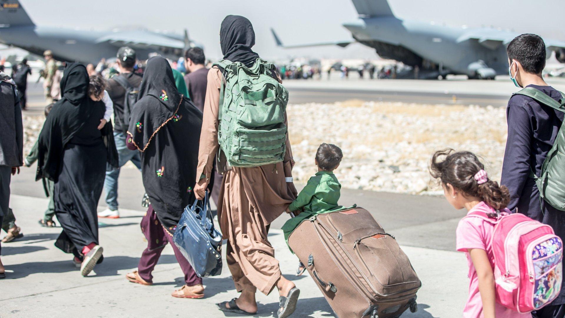 Kimenekítés Kabulból