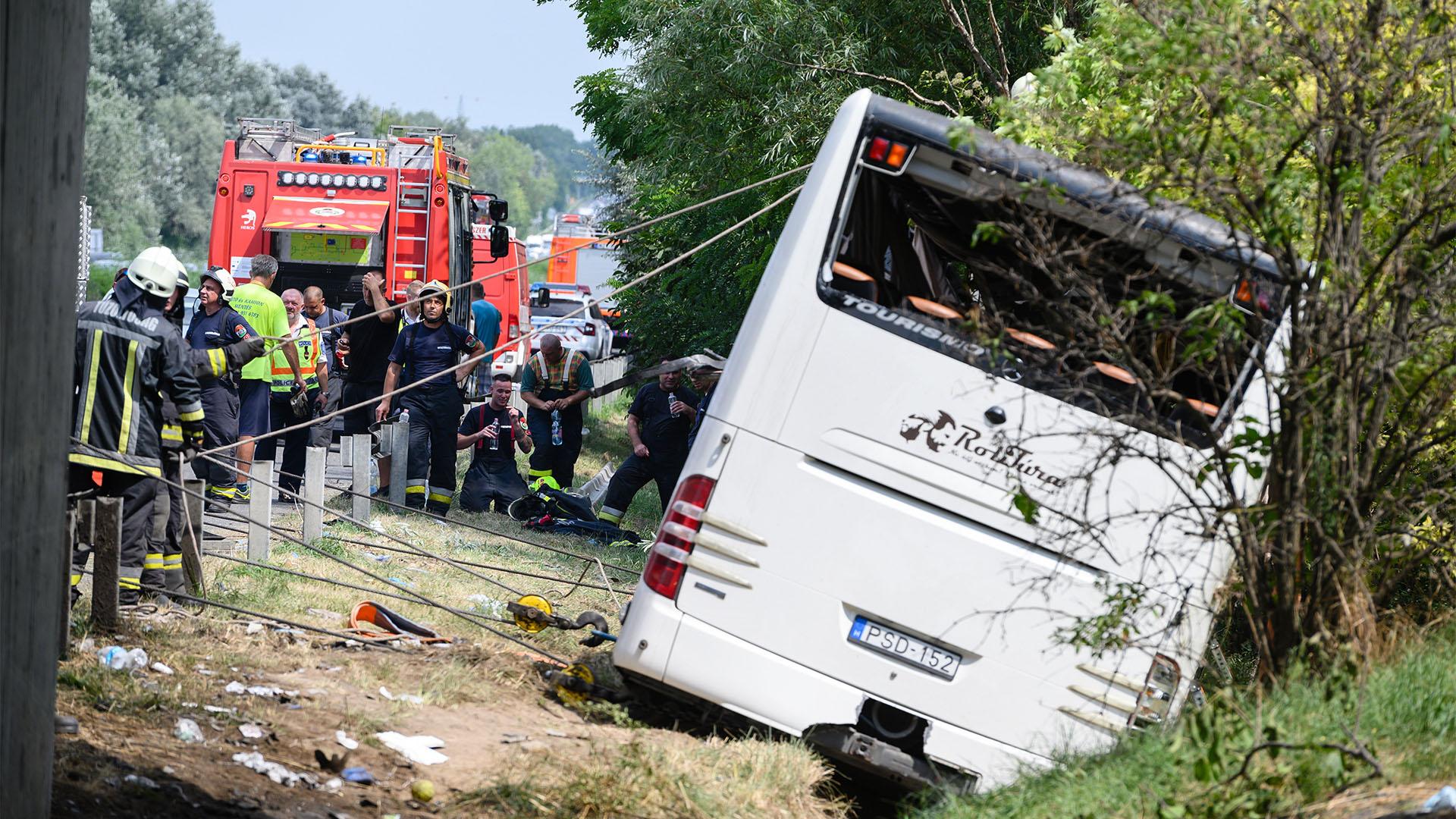 Valószínűleg elkerülhetetlen volt az M7-es buszbaleset