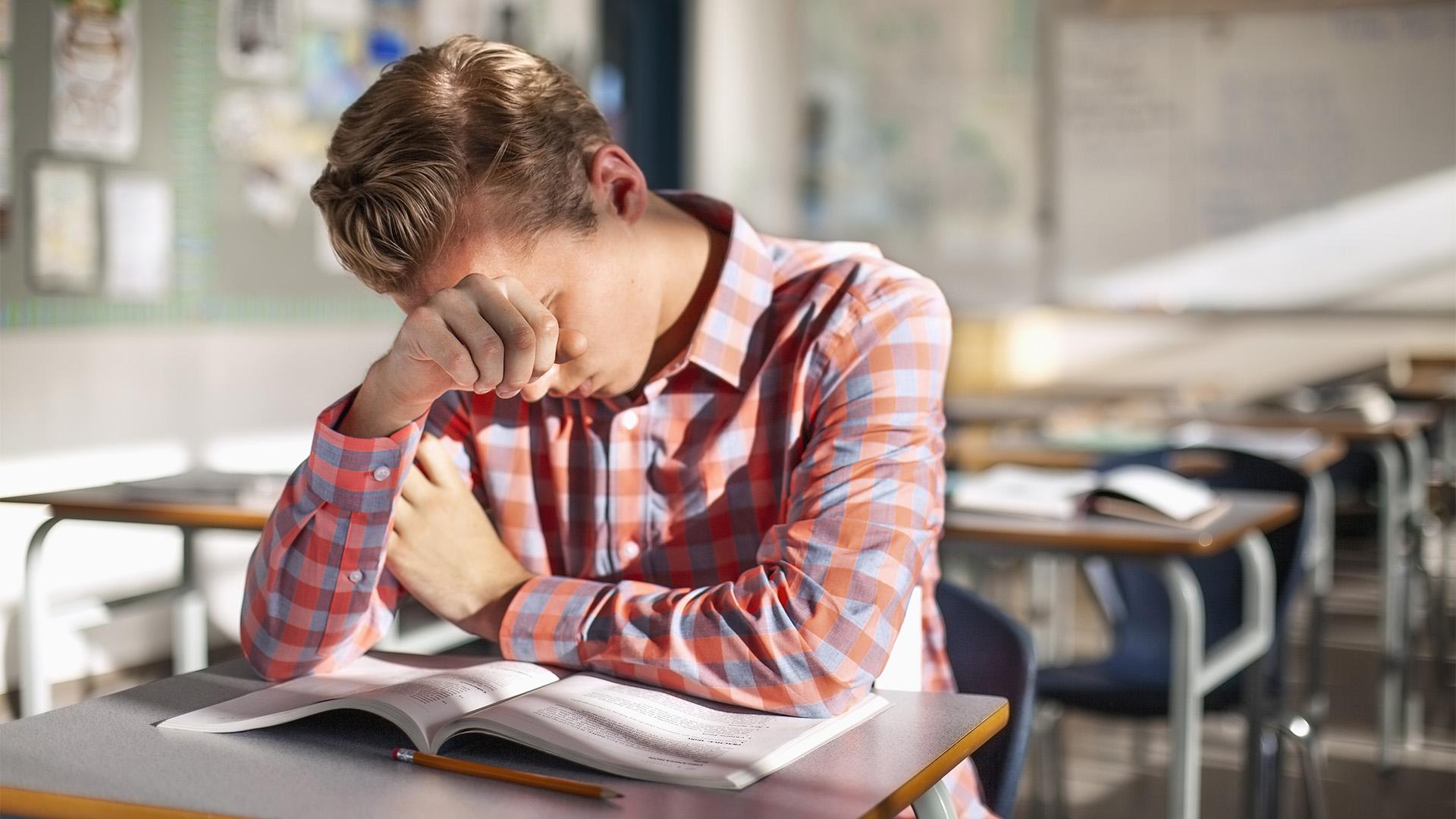 Így ellenőrzi diákjai mentális egészségét ez a tanár