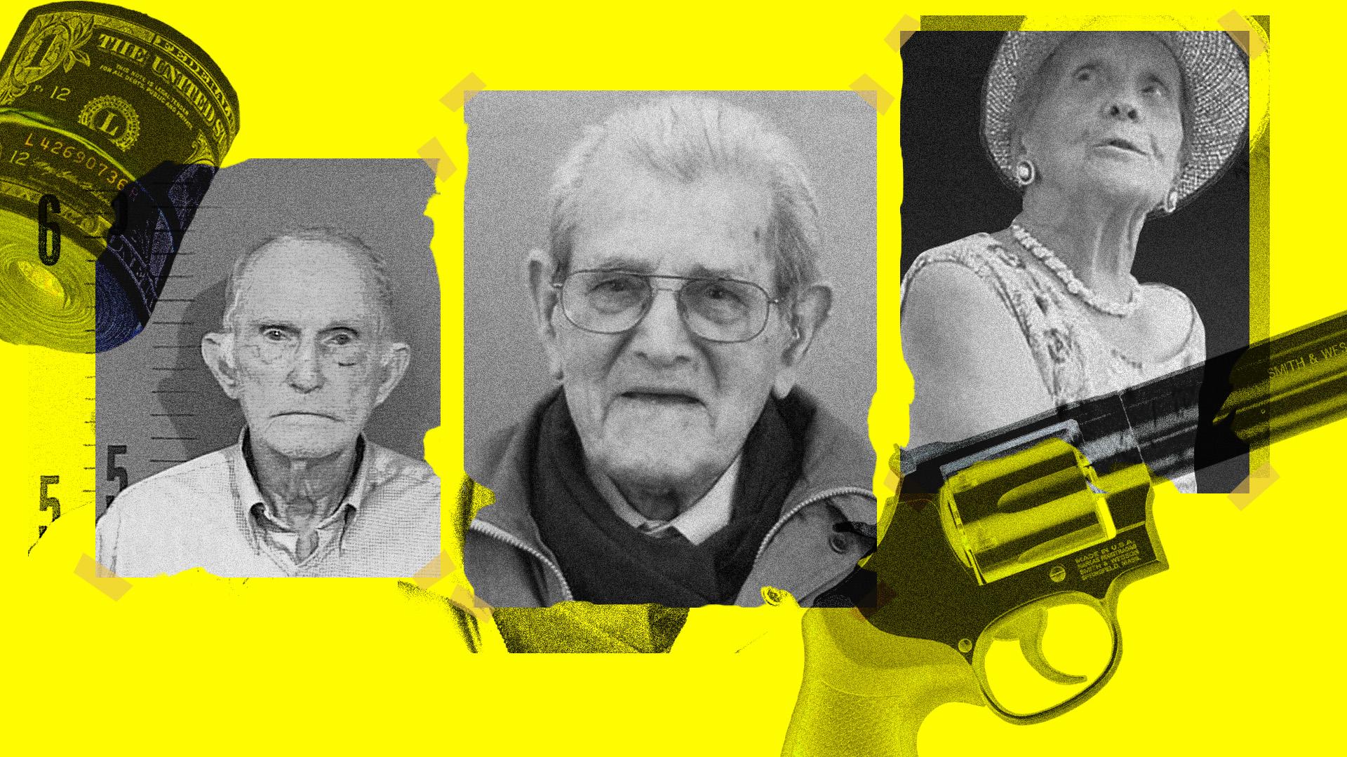 Idős nénik és bácsik, akikről kiderült, hogy bűnözők