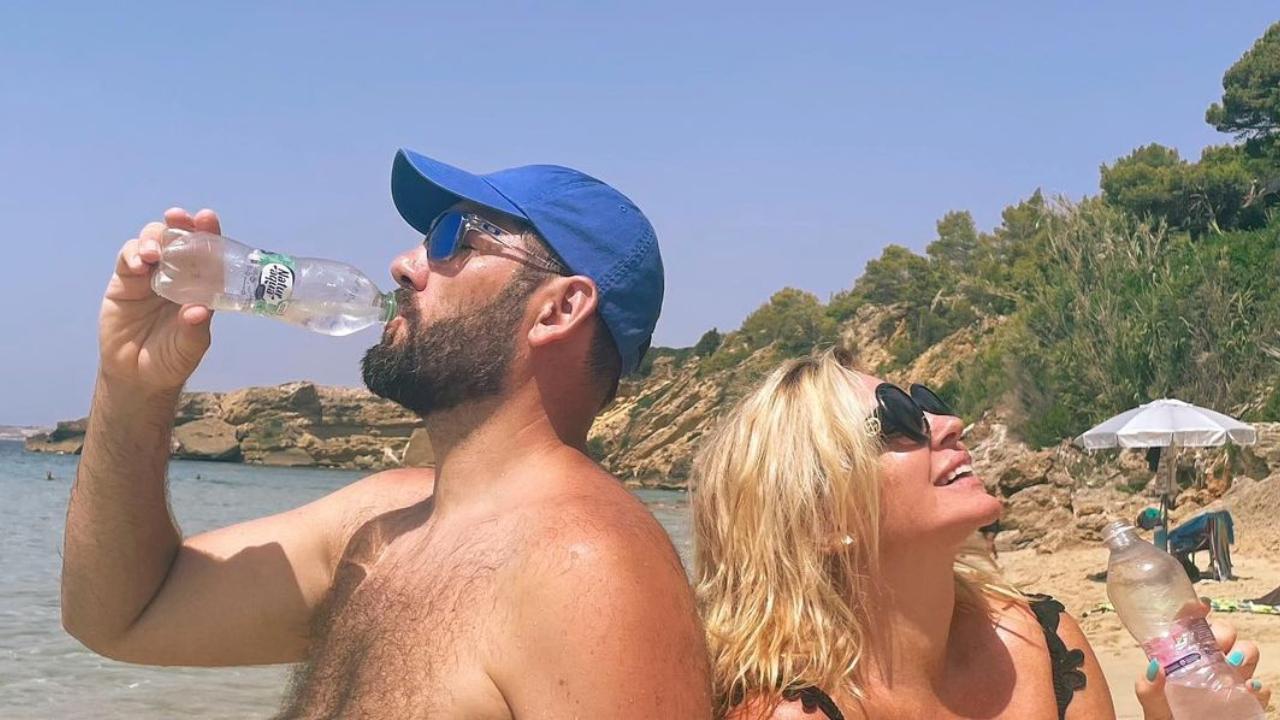Pataki Ádám és Liptai Claudia nyaralása