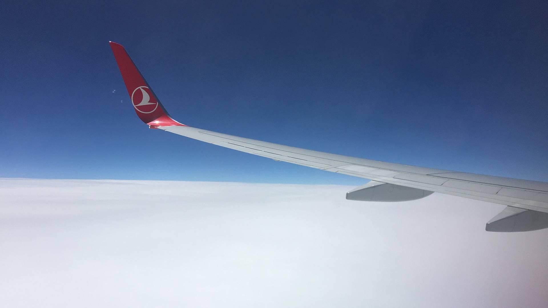 Turkish Airlines repülő