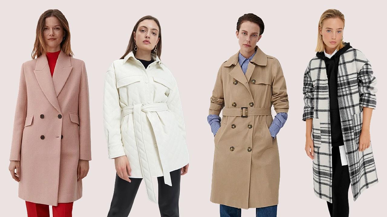 Őszi kabátok oszlop alkatúaknak