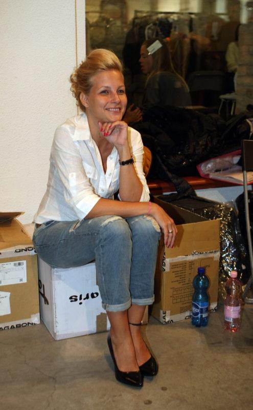 Várkonyi Andrea a 2013-as Marie Claire Fashion Days-en (Fotó: smagpictures.com)