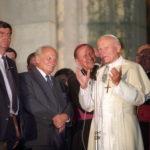 II. János Pál pápa és Göncz Árpád