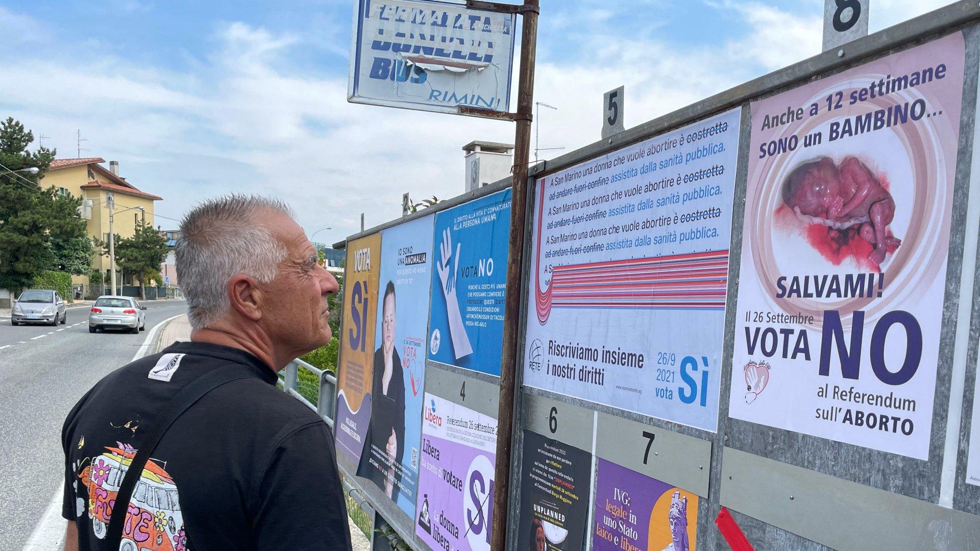 Népszavazás az abortuszról San Marinóban