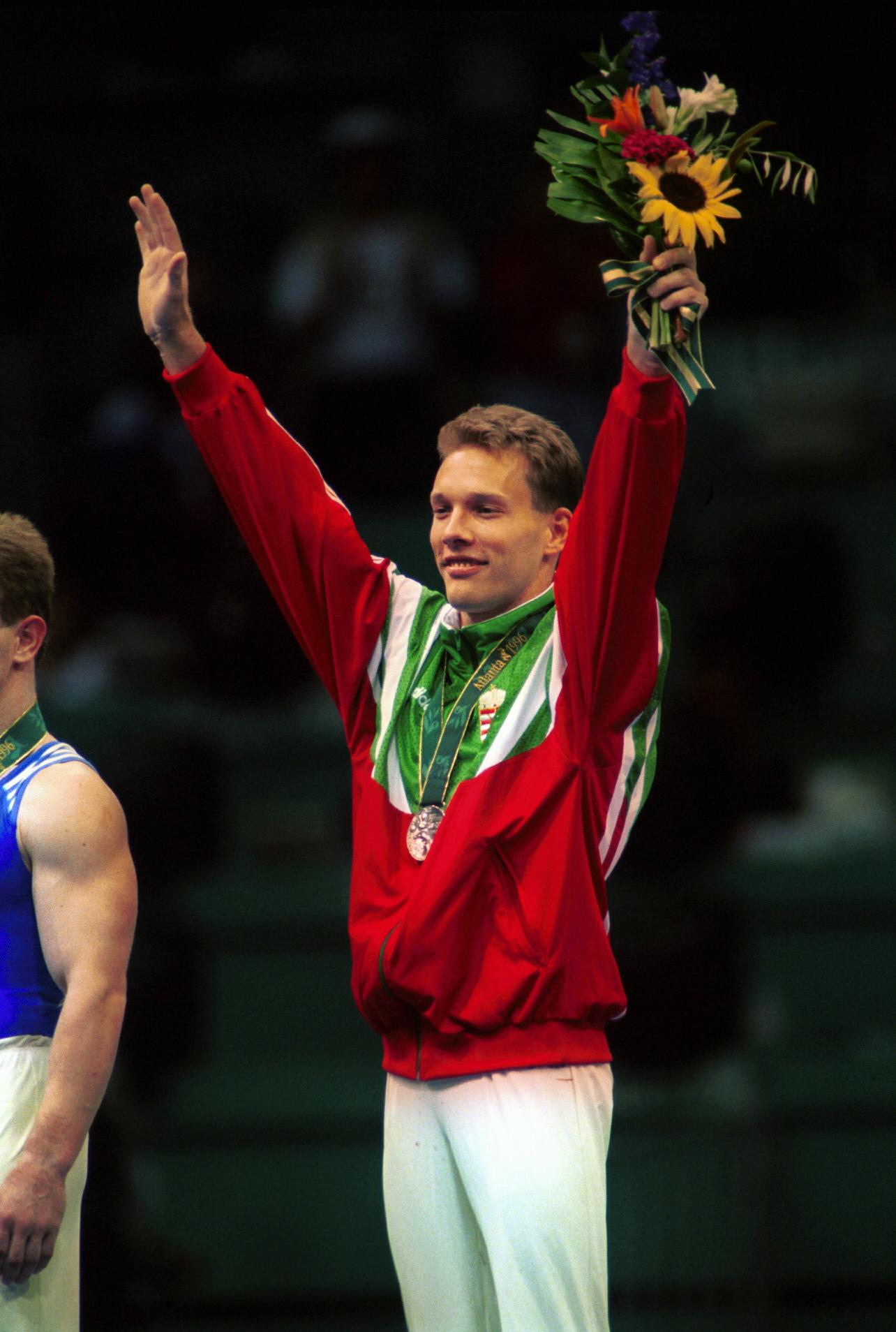 Csollány Szilveszter az atlantai olimpián