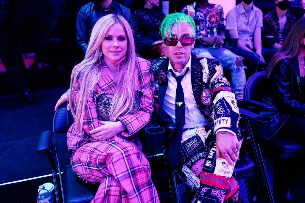 Avril Lavigne és Mod Sunaz idei MTV VMA díjátadó ünnepségen