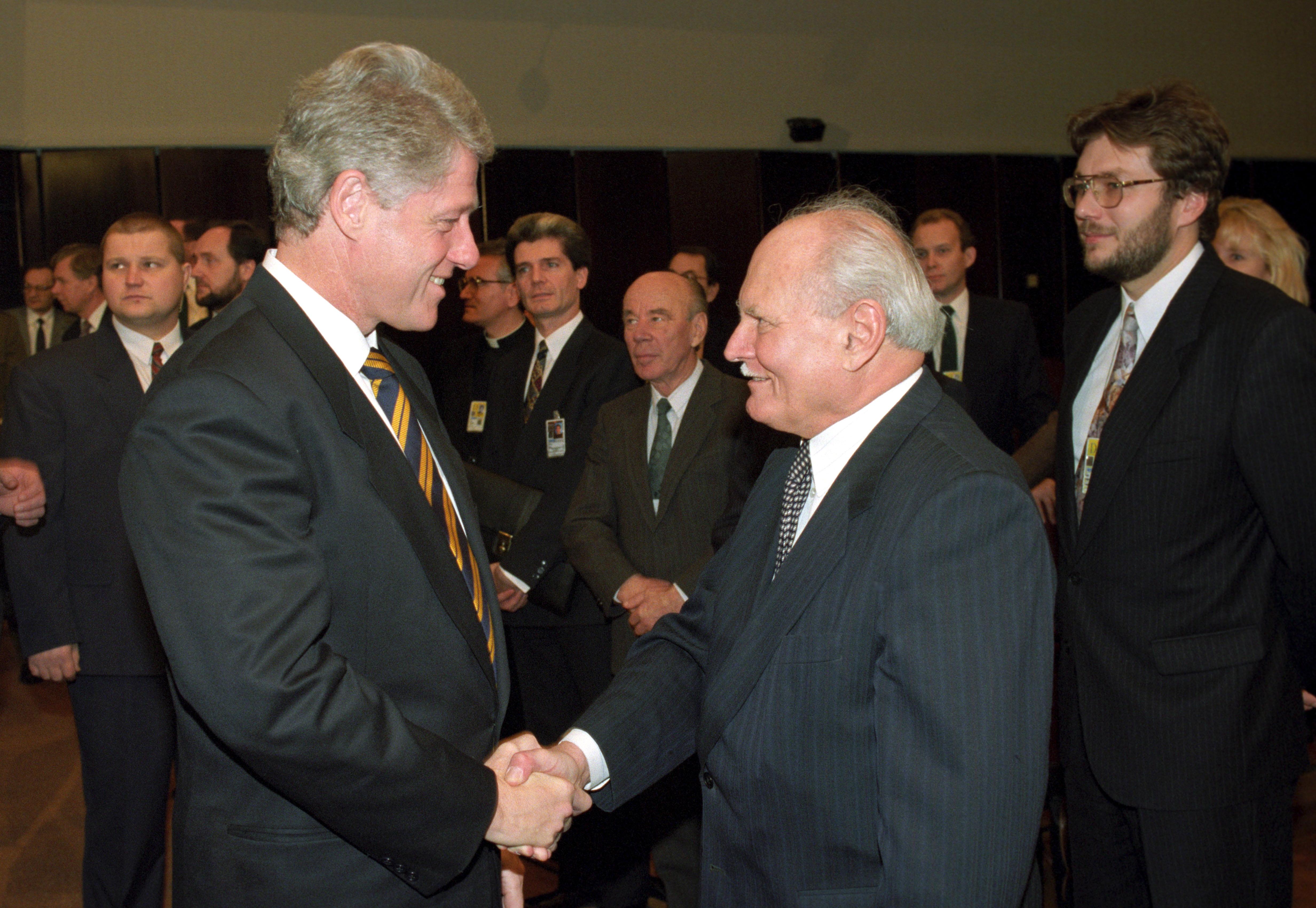 Bill Clinton és Göncz Árpád