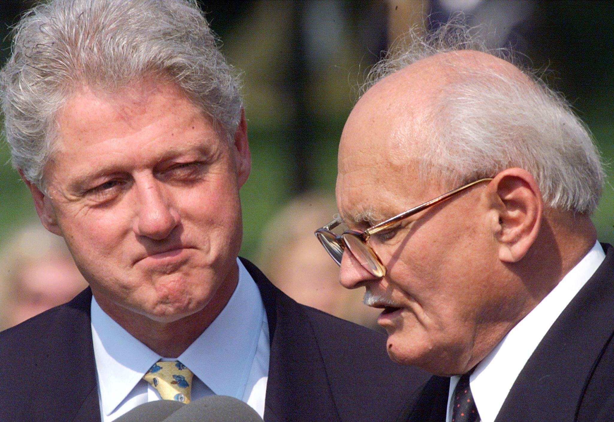 Göncz és Clinton 1999
