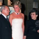Diana hercegné és Göncz Árpád