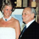 Diana és Göncz Árpád