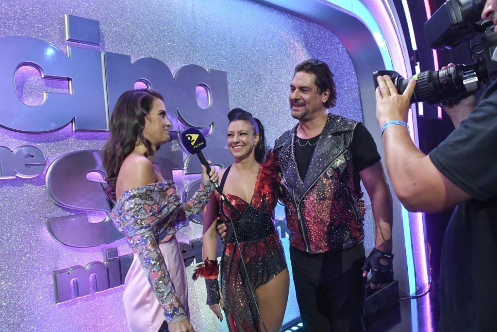 Gelencsér Timi a Dancing with the Stars háttéműsorának háziasszonya lett (Fotó: TV2)