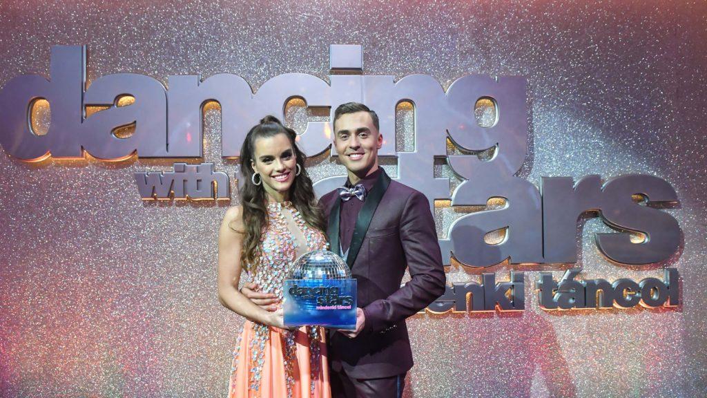 Tavaly Gelencsér Timi Hegyes Bertalannal nyerte meg a Dancing with the Stars műsorát! (fotó: TV2)