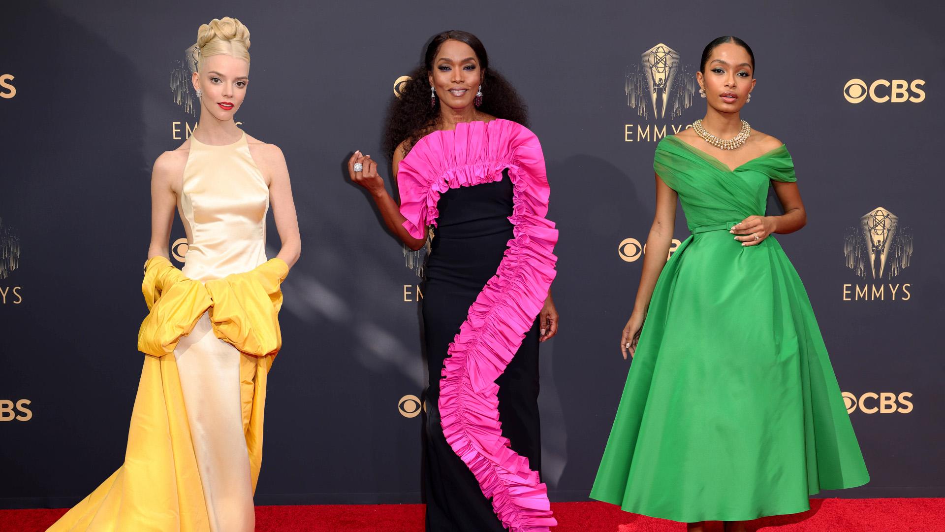 Tojásrántotta-estélyi tarolt az Emmy ruhaversenyén
