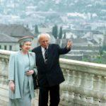 Göncz Árpád és a királynő