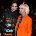 Alba Flores Jean-Paul Gaultier Haute Couture divatbemutatóján vett részt a párizsi Fashion Weeken