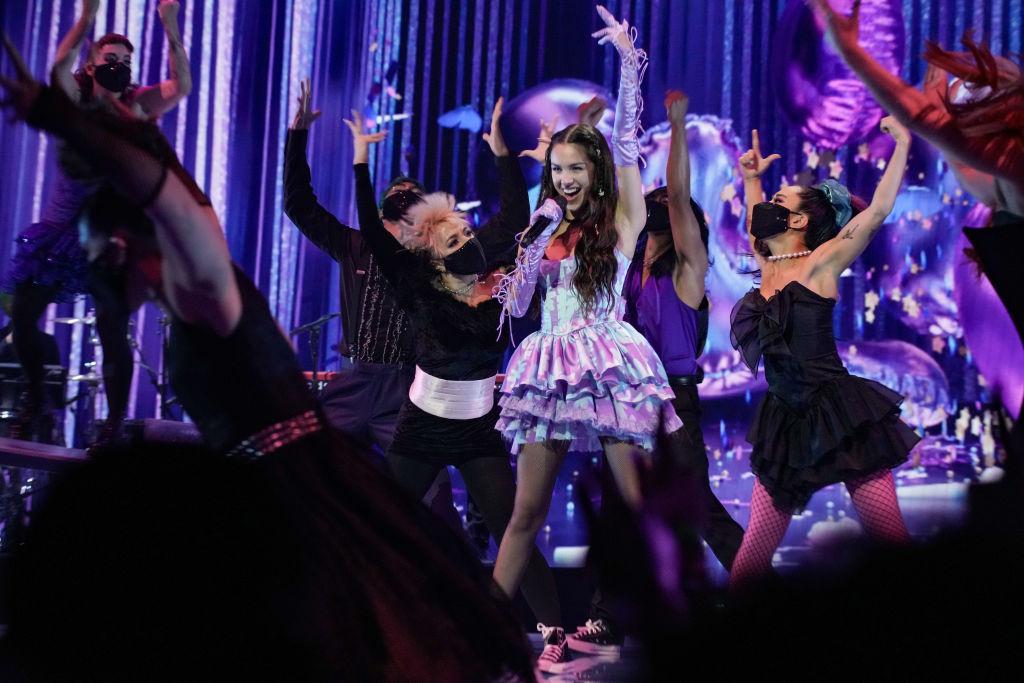 Olivia Rodrigo fellépett az MTV Video Music Awards ünnepségén