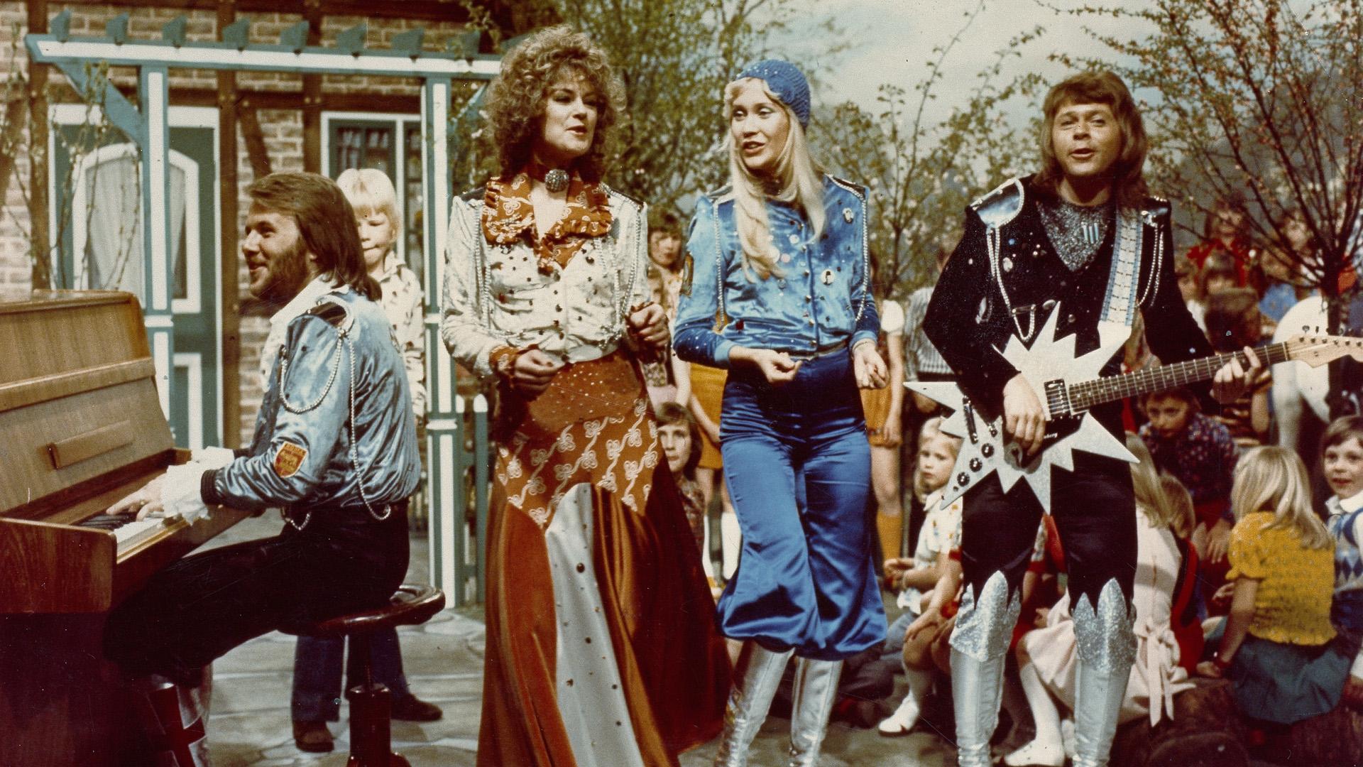 Az ABBA legbizarrabb fellépőruhái