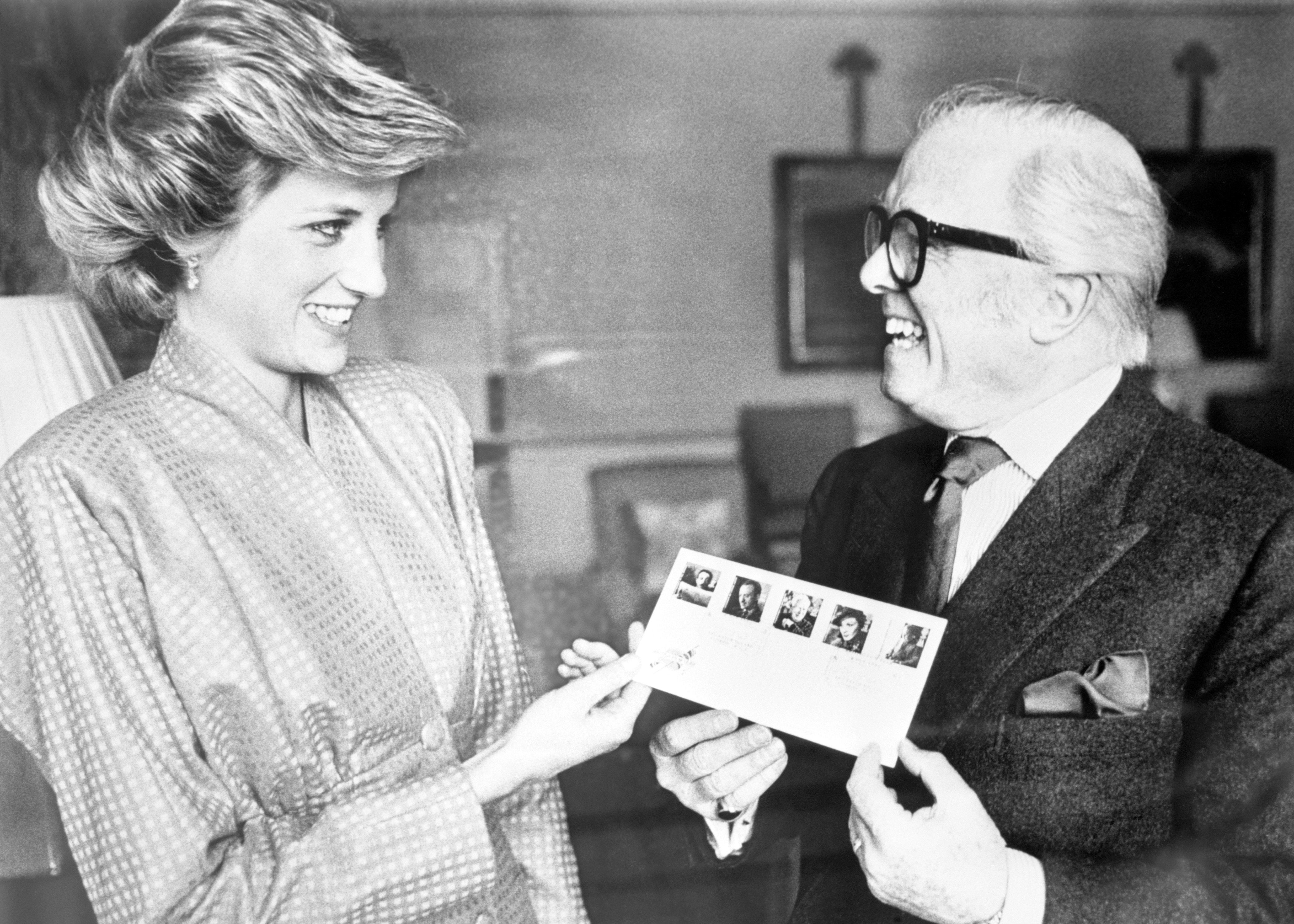 Sir Richard Attenborough és Diana hercegnő