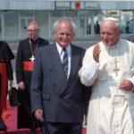 Göncz Árpád és a pápa