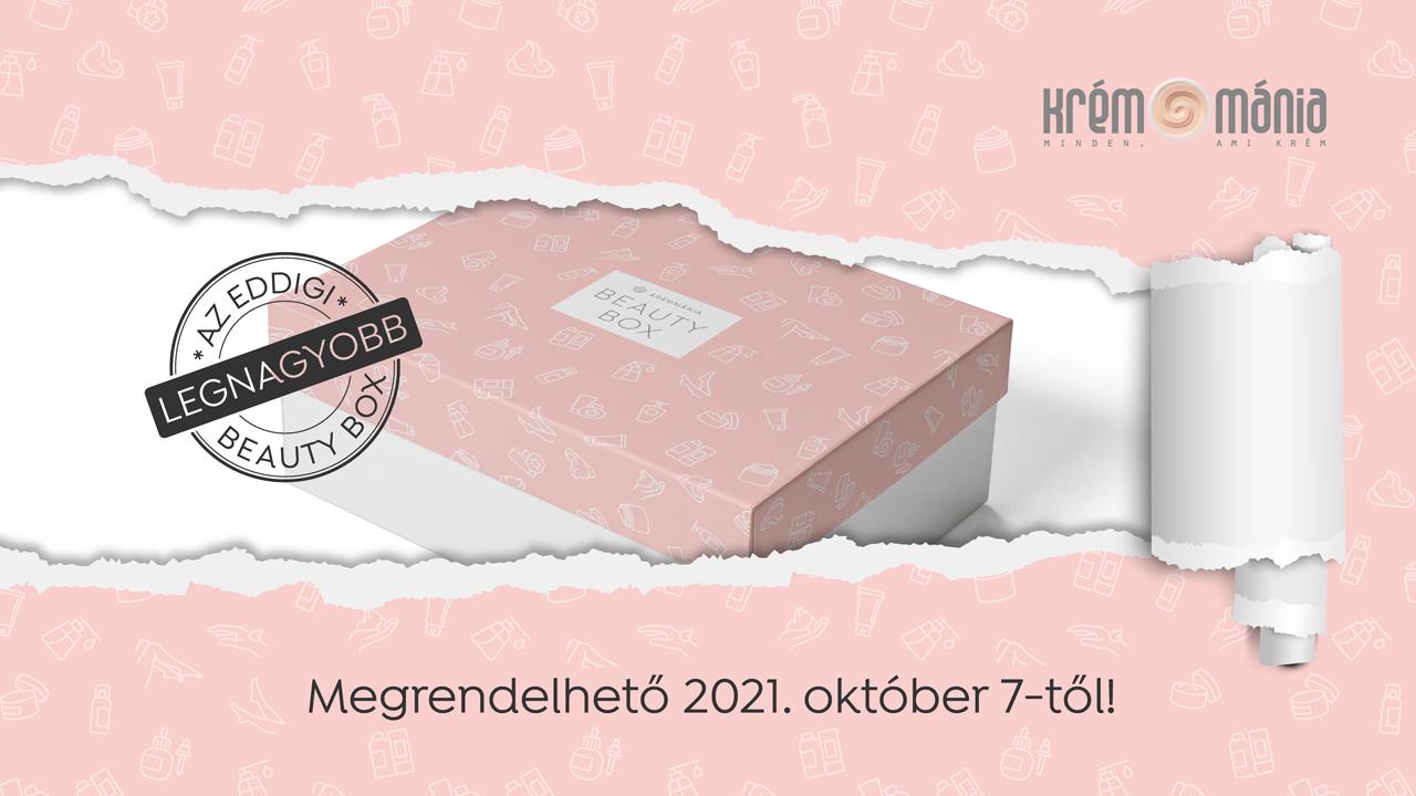 11. Krémmánia Beauty Box - 2021. ősz