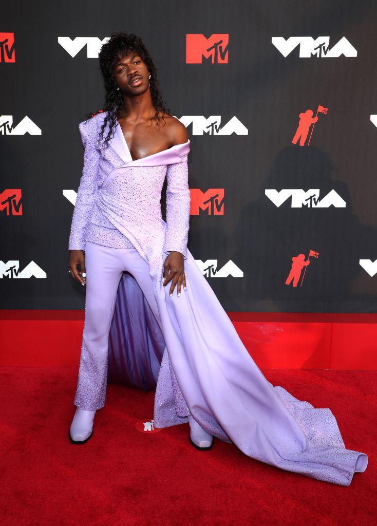 Lil Nas X ruhája az MTV VMA 2021-es gálán