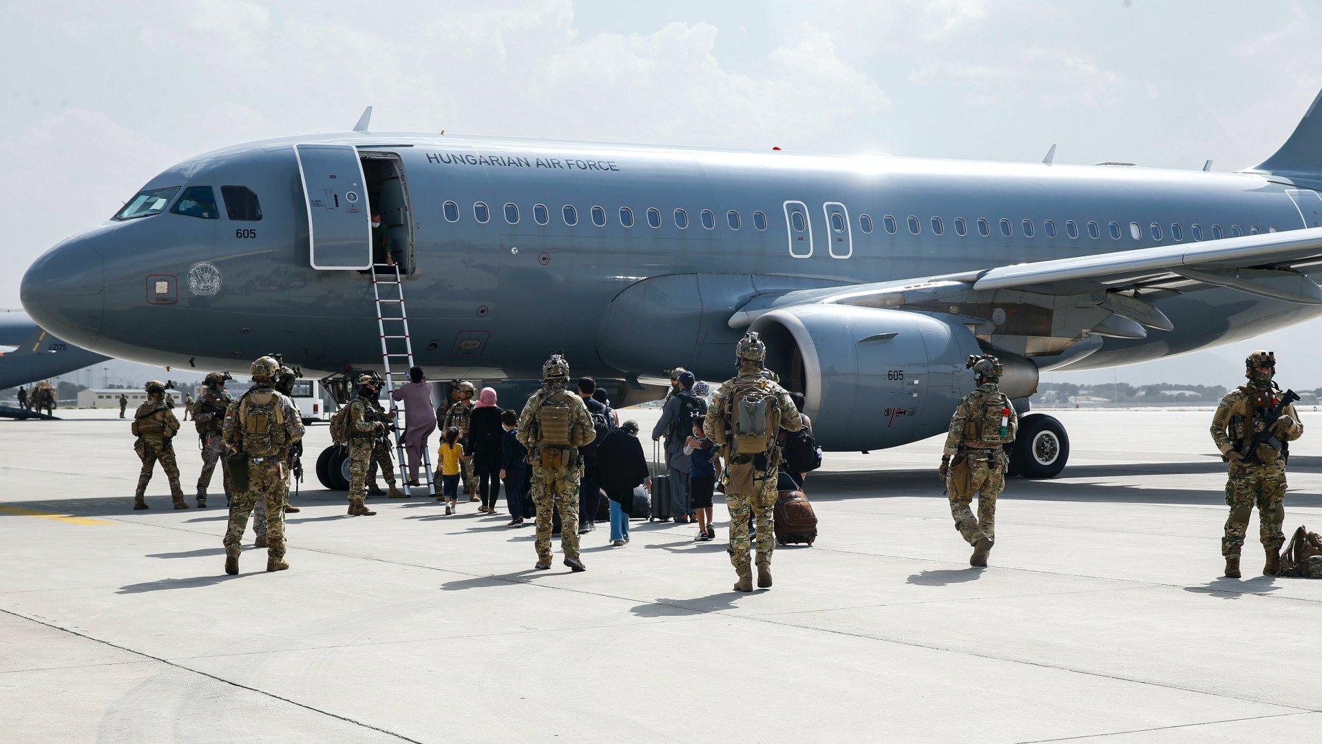 Magyar mentőakció Afganisztánban