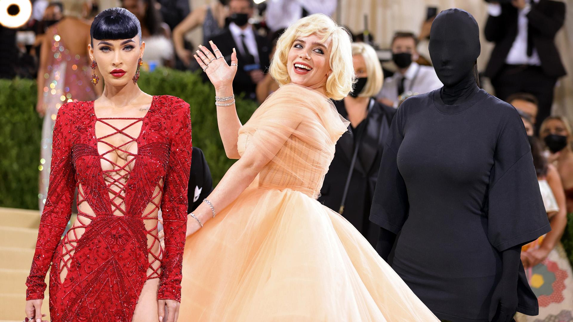 Marilyn Eilish és a sziluett Kardashian - a 2021-es MET-gála leg-leg-leg ruhái