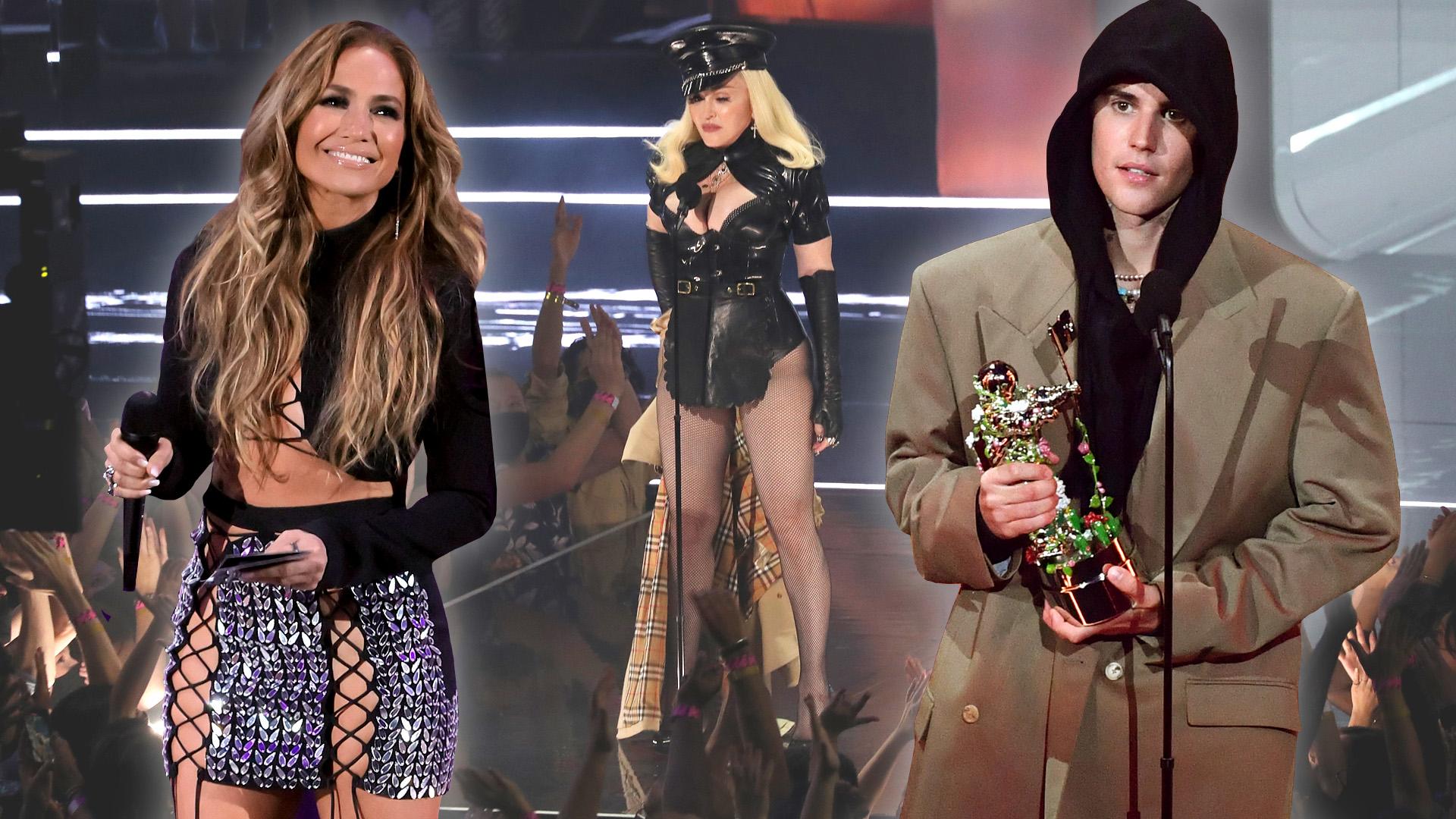 Madonna feneke szenzáció lett, JLo bugyi nélkül jelent meg, Justin Bieber furán festett