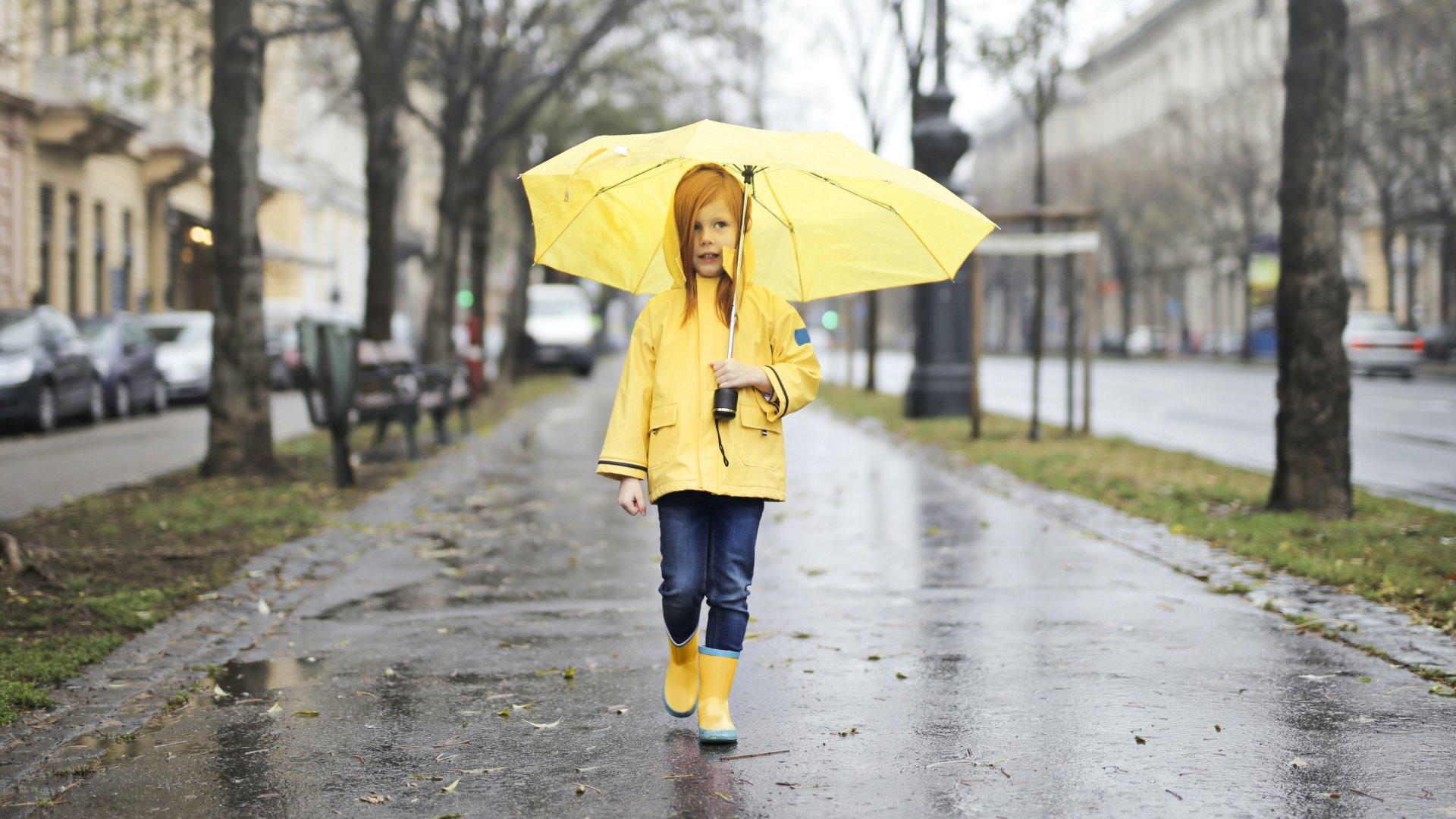 Őszi esős idő