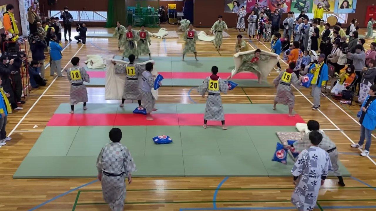 Párnacsata Japánban