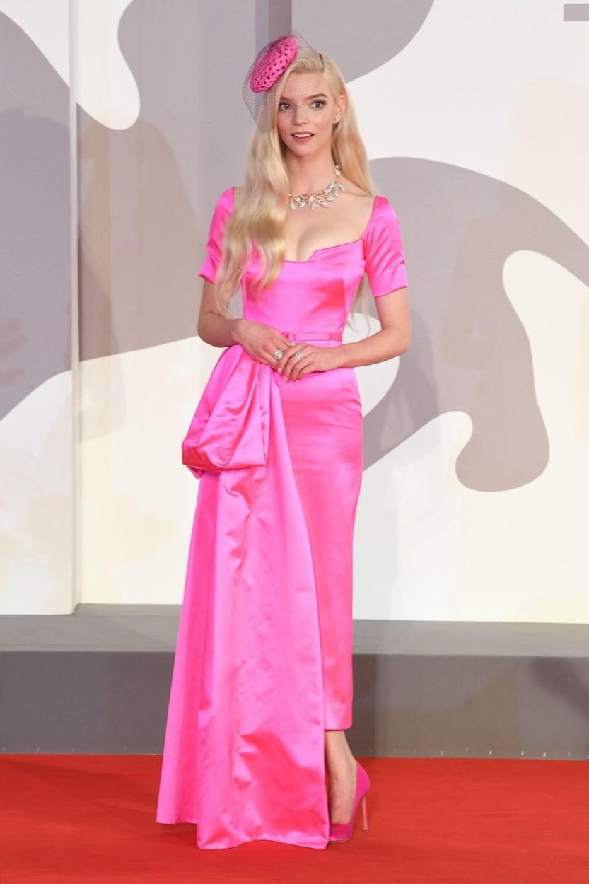 Anya Taylor-Joy az Utolsó éjszaka a Soho-ban premierjén, Diorban.