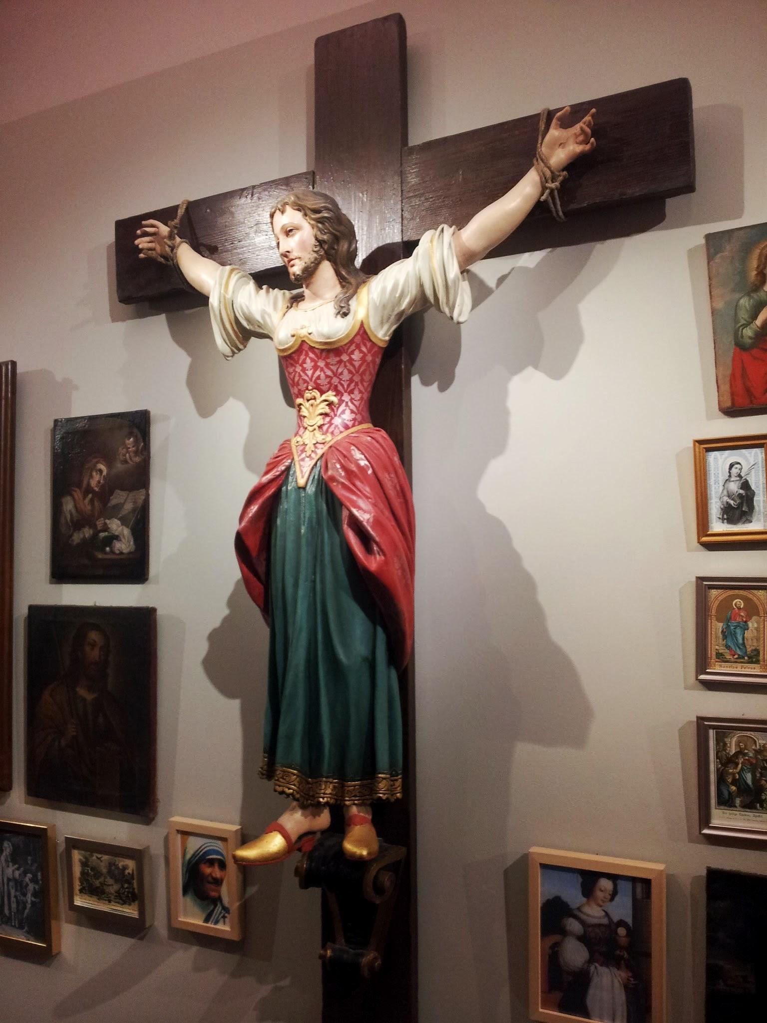 Szent Kümmernisz egy grazi múzeumban (fotó: Wikipedia)