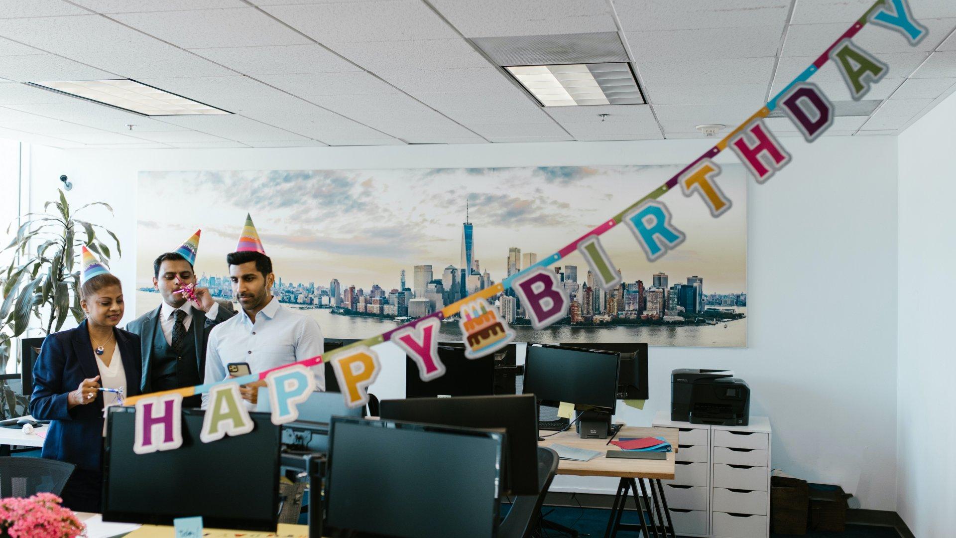 Munkahelyi születésnap