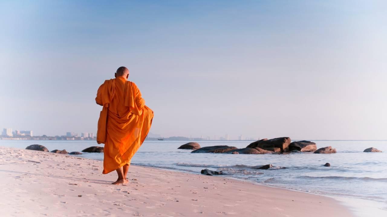 buddhista szerzetes