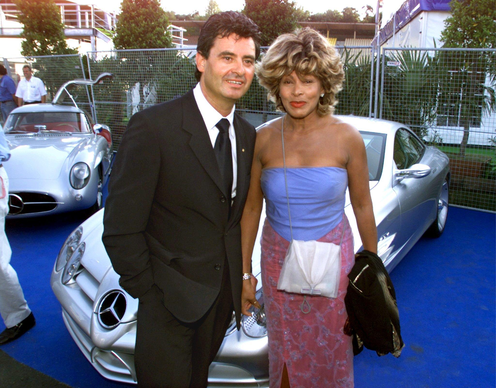 Tina Turner és férje 1999-ben