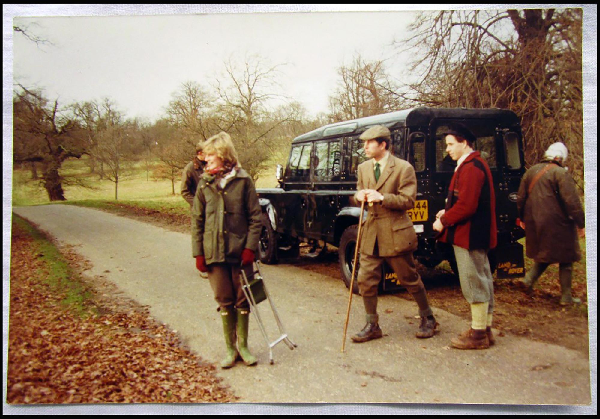 Diana hercegnő vadászat közben