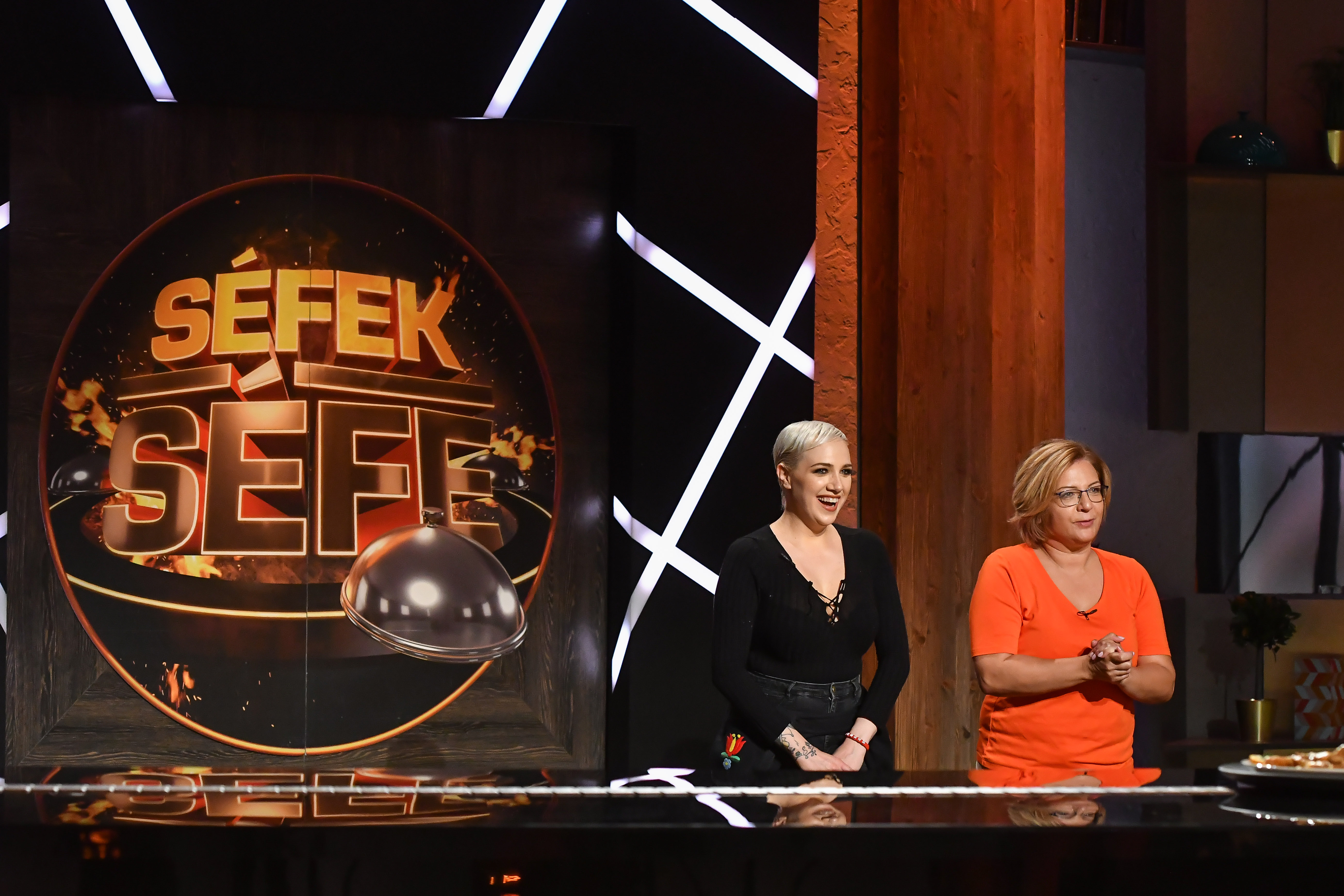 Tóth Gabi és Szaniszló Andrea egyetértettek: elképesztően stresszes volt a Séfek Séfe konyhában főzni-sütni