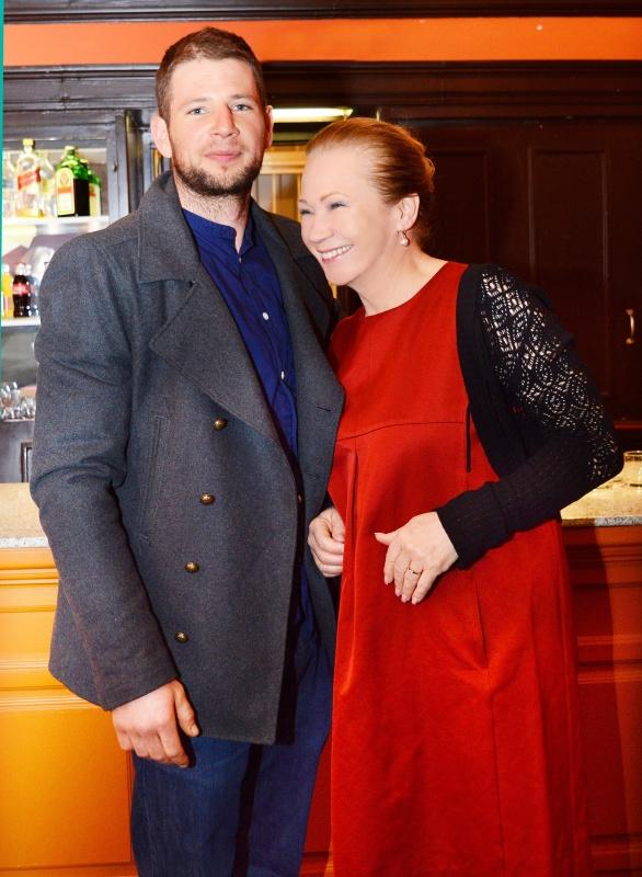 Őszi szonáta című darab bemutatójára Udvaros Dorottya és Gyöngyösi Máté együtt érkeztek 2016-ban