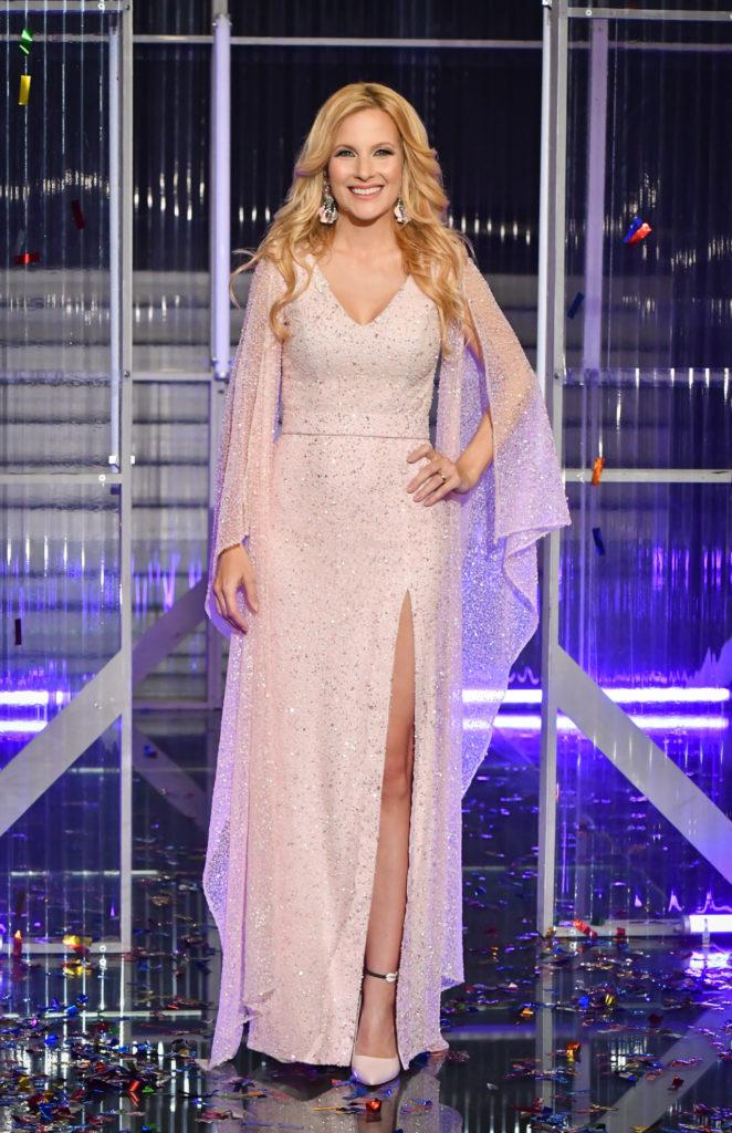 Várkonyi Andrea a Neked énekelek című műsort ebben a ruhában vezette májusban, sokan így képzelik el az esküvőjén is