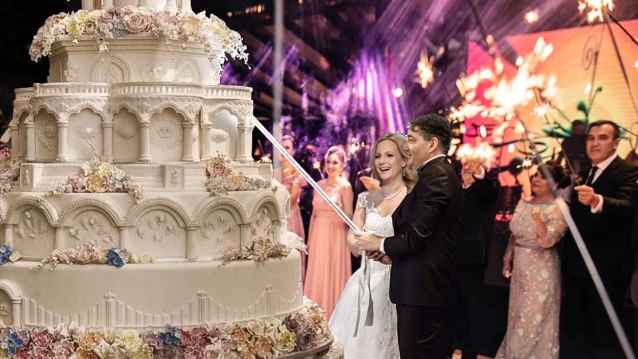 Mészáros Lőrinc és Várkonyi Andrea esküvője