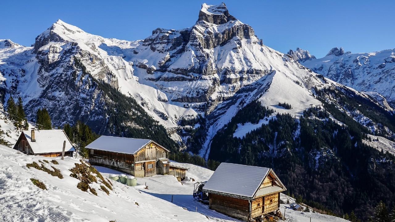 Idilli kép az Alpokból (fotó: Pixabay)